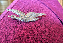 Load image into Gallery viewer, Vintage 1940's Charles Horner Flying Duck Brooch