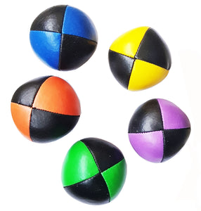 Set of 5 Flash Pro DX balls, Black+Yellow,Black+Green,Black+Blue,Black+Orange,Black+Purple