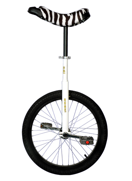 Monocycle white luxus qu-ax 50cm