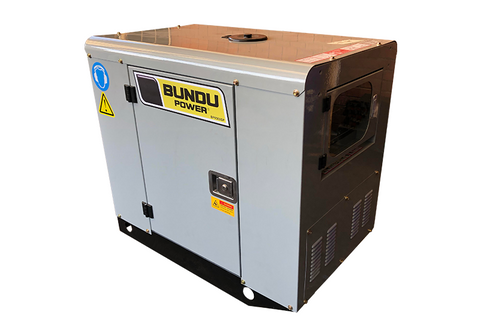 9.5kVA Silent Petrol Generator - Bundu Power - BP9500SP