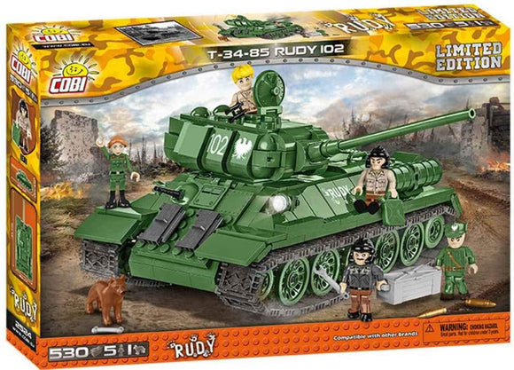 2524 - T-34-85 RUDY 102 Limited Edition