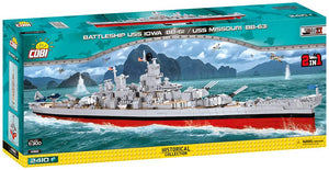 4812 - BATTLESHIP USS IOWA (BB-61) / USS MISSOURI (BB-63)
