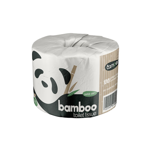 100% Bamboo Premium Toilet Paper - Single