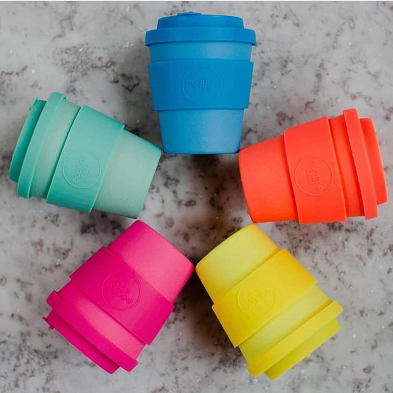 Reusable Coffee Cup Blue 350ml
