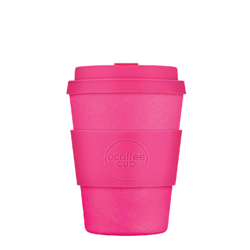 Reusable Coffee Cup Pink 350ml