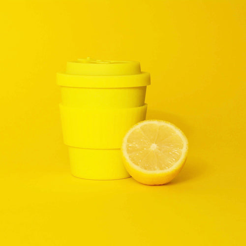 Reusable Coffee Cup Yellow 350ml
