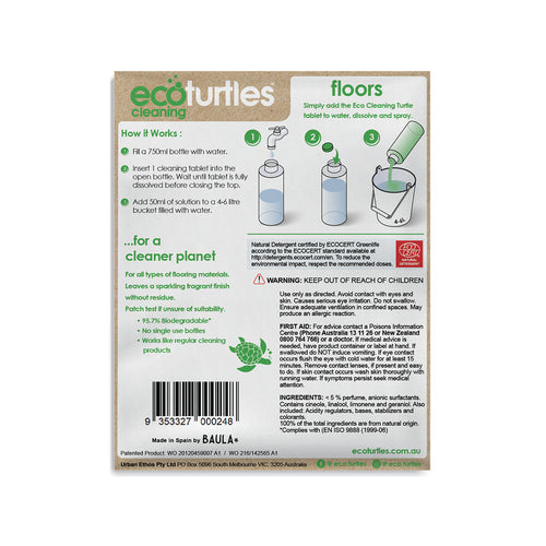 Floor Eco Cleaning Tablet