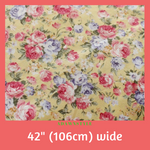Woven Cotton Per Half Metre - Machine Embroidery Adawnstyle