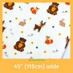 Flannel Cotton Per Half Metre - Machine Embroidery Adawnstyle
