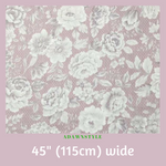 Woven Sateen Cotton Per Half Metre - Machine Embroidery Adawnstyle