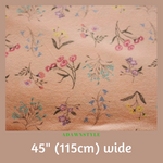 Stretch Cotton Per Half Metre - Machine Embroidery Adawnstyle