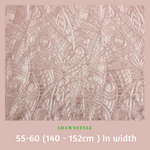 Stretch Lace Per Half Metre - Machine Embroidery Adawnstyle