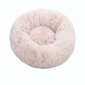 Anti-Anxiety Calming Cat Donut Bed Floppy Fishie Toy