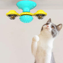 Load image into Gallery viewer, Wind Mill Cat Interactive Toy Floppy Fishie Toy