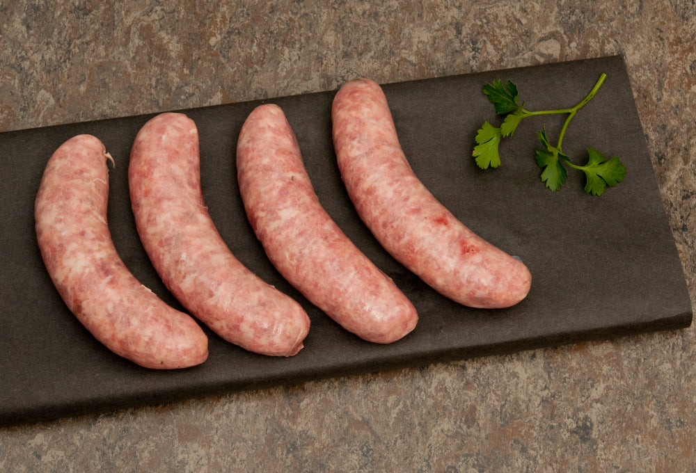 Plain Beef Thick Sausages