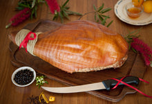 Load image into Gallery viewer, Double Infused Gin Pig Christmas Ham