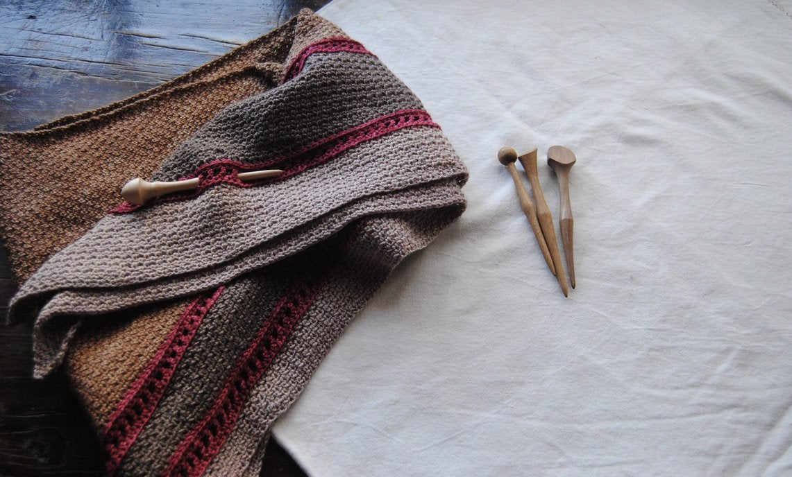 Wooden Shawl Pins