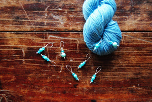 Beaded Stitch Markers - Knitting