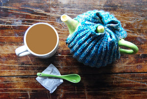 Stripy ZelLé Tea Cozy