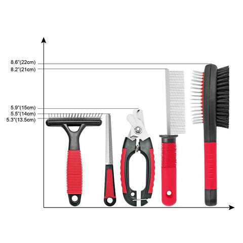 Dog Grooming Tools Set - DogsMall-International