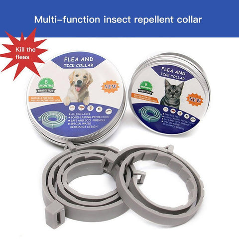 Pet Collar Adjustable Anti Mosquitoes Collar - DogsMall-International