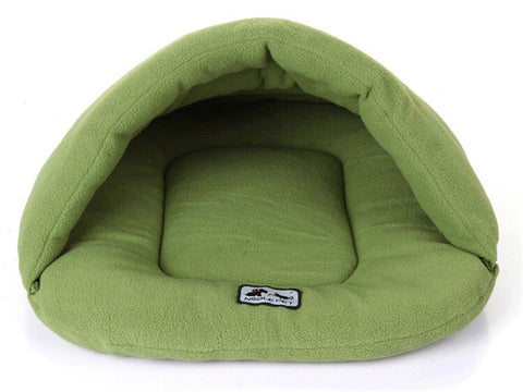 DogsMall-International | Warm and comfortable Soft Polar Fleece Multi-functional Dog Beds for small dogs