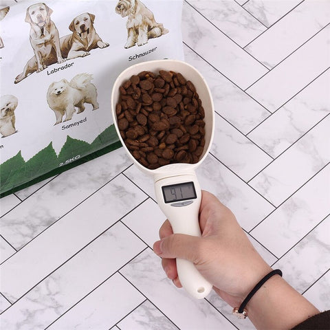 Spoon Cup Precise Food Scale Scoop with Led Display Measuring Precise Food Capacity - DogsMall-International