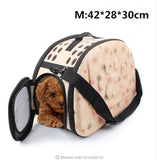 Travel Puppy Carrier handbag for Small Dogs | DogsMall-International