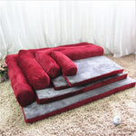 DogsMall-International | High-quality Material Dog bed, Crafted with superior short plush on the surface of bed
