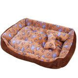 Dog Bed Soft Plush Calming Bed Shape Sleeping Bag