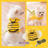 DogsMall-International | Bee Shape Vest For Miniature Poodle