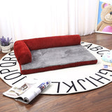 Washable Dog Bed Sofa Large Dog Cushion Winter Pet House