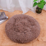 Round Kennel Dog Winter Warm Sleeping Bed Super Soft