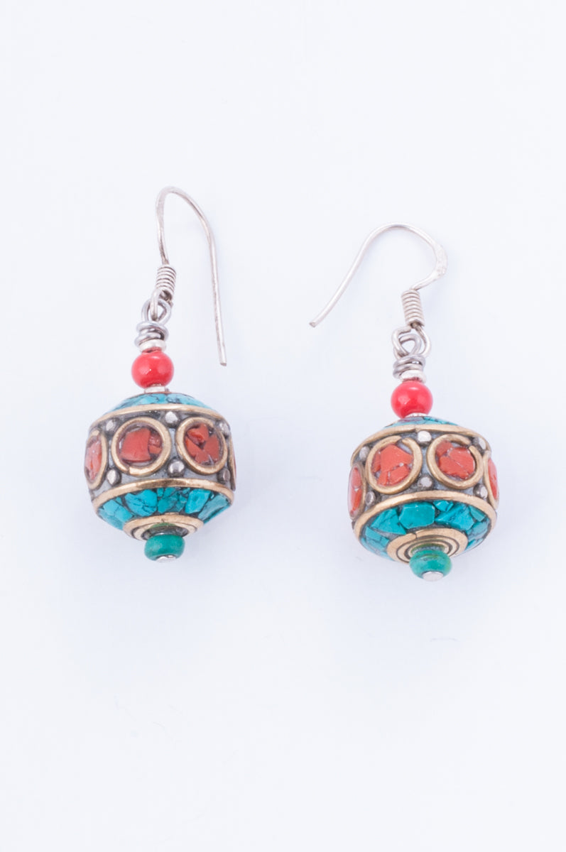 Collection Tibet - Boucles Mani Korlo 1