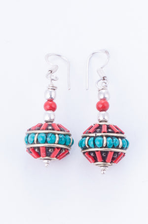 Collection Tibet - Boucles Mani Korlo 2