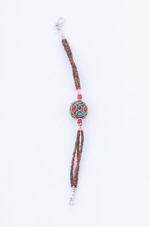 Collection Tibet - Bracelet Om Mani