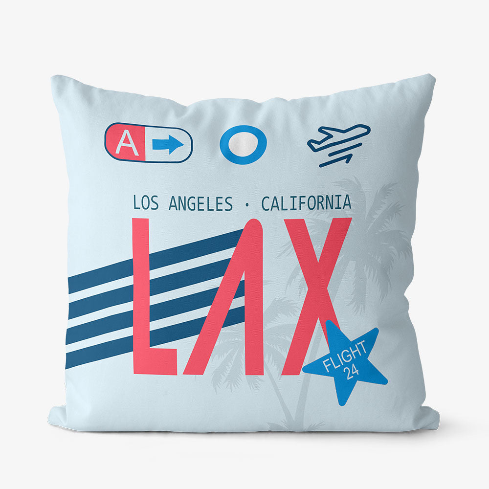 LAX - Throw Pillow