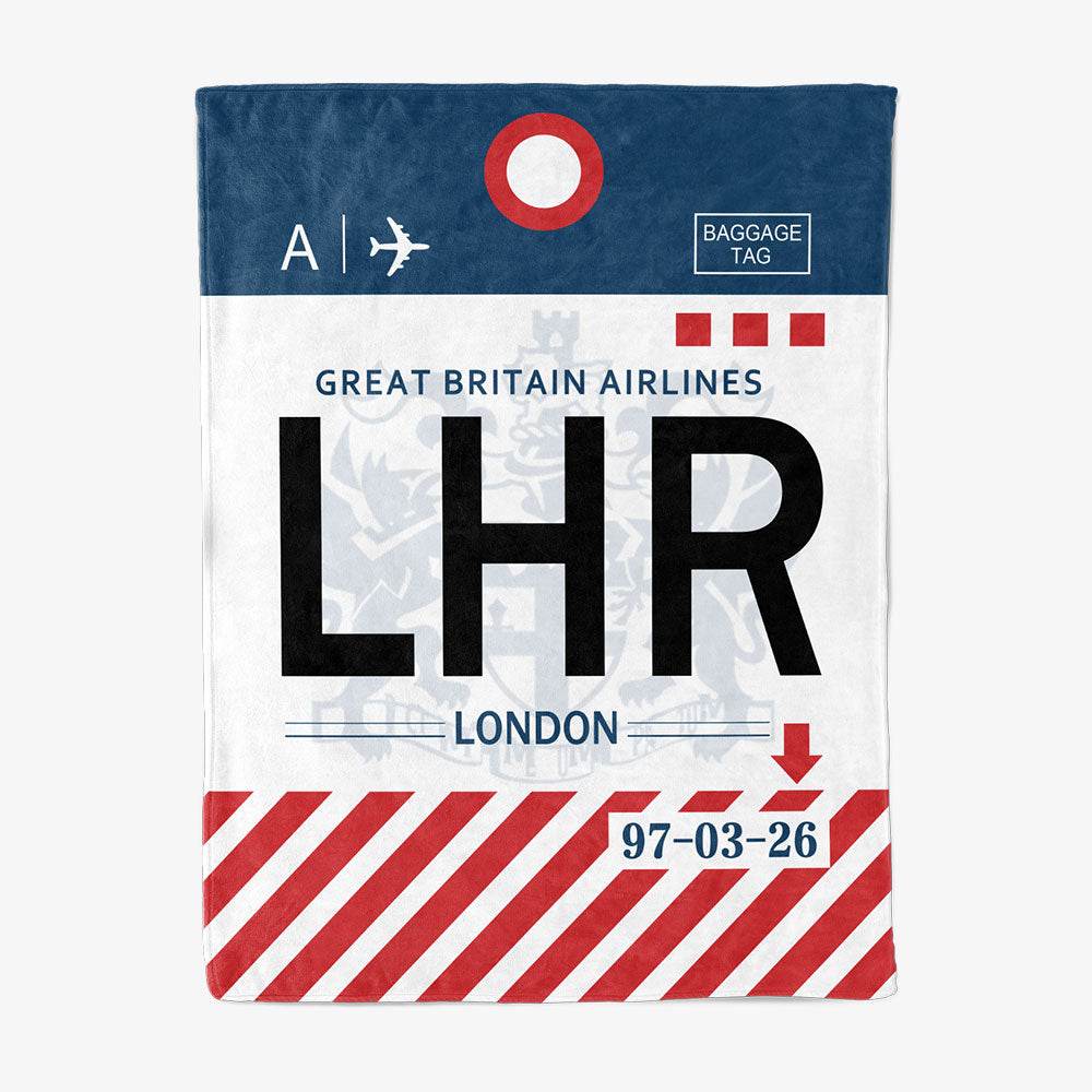 LHR - Fleece Blanket