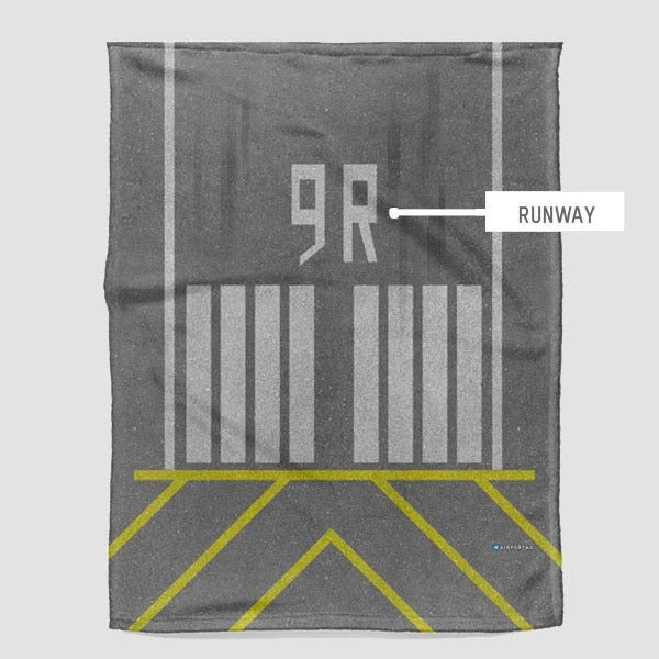 Runway - Fleece Blanket