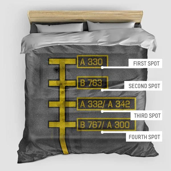 Custom Parking - Duvet Cover