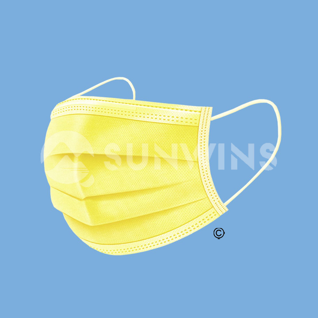 Level 1 Face Mask - YELLOW