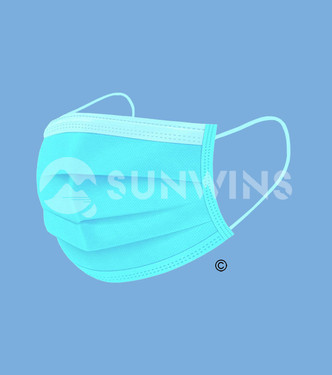 Level 1 Face Mask - MINT BLUE