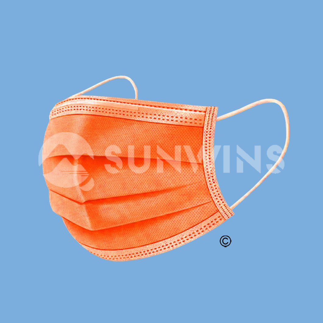 Level 2 Face Mask - ORANGE