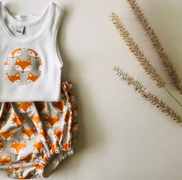 Bright Fox Bloomer Set