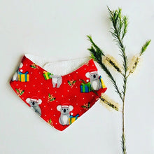 Load image into Gallery viewer, Christmas Koala Dribble Bib