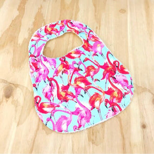 Tropical Flamingo Bib