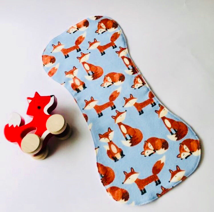 Fox Burp Cloth
