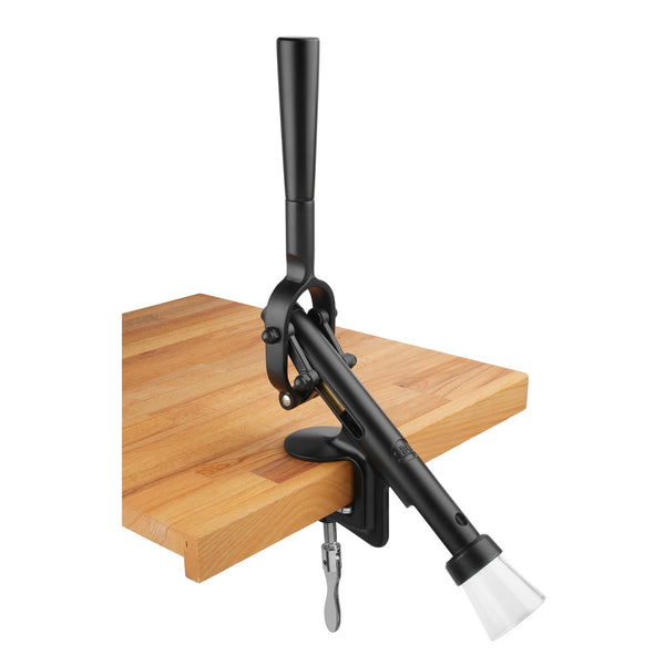 BOJ Professional Black, Table-Mounted Corkscrew - BOJpro.com