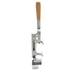 boj professional matte chrome wall mounted corkscrew wine opener 09939 - BOJpro.com