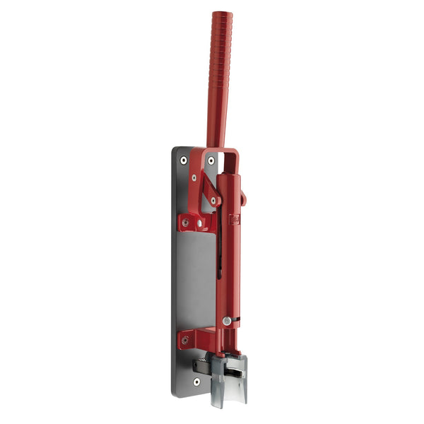 BOJ Professional LUX Metallic Red, Light Gray Wooden Backing Wall-Mounted Corkscrew, Model 110 - BOJpro.com